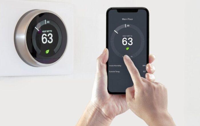 Smart wi fi termostat